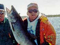 huge lake trout