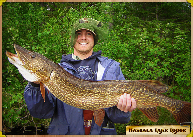 Big Sports Fishing at Hasbala Lake Lodge